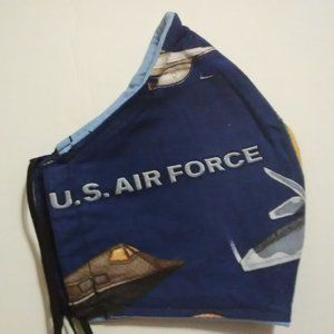 Facemask For The Men Air Force In Blue